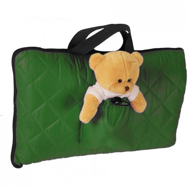 Sac de dormit pentru calatorii cu ursulet de plus inclus Tuloko TL004 0
