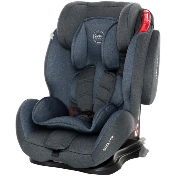 Scaun auto cu Isofix Salsa Pro - Coto Baby - Melange  Albastru 0