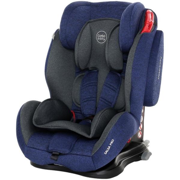 Scaun auto cu Isofix Salsa Pro - Coto Baby - Melange Albastru Inchis 0