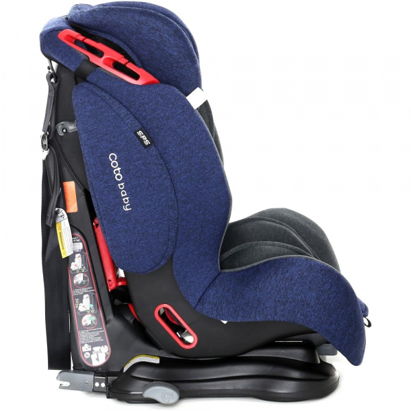 Scaun auto cu Isofix Salsa Pro - Coto Baby - Melange Albastru Inchis 2