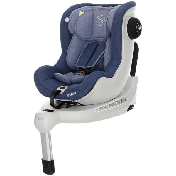 Scaun auto cu Isofix Solario - Coto Baby - Melange Albastru [0]
