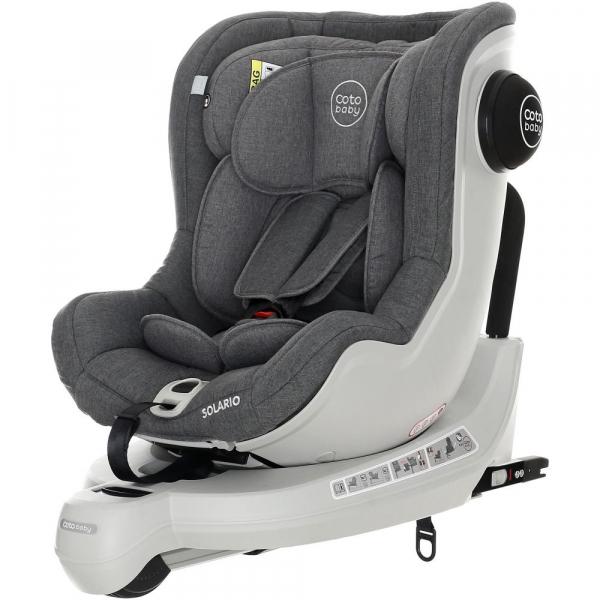Scaun auto cu Isofix Solario - Coto Baby - Melange Gri 5
