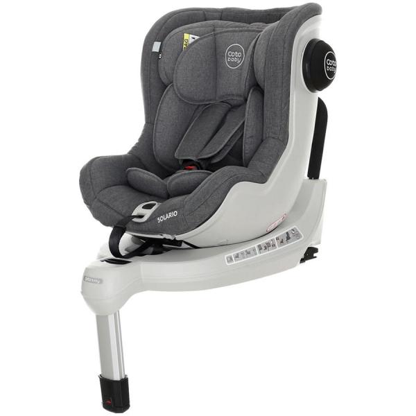 Scaun auto cu Isofix Solario - Coto Baby - Melange Gri 0
