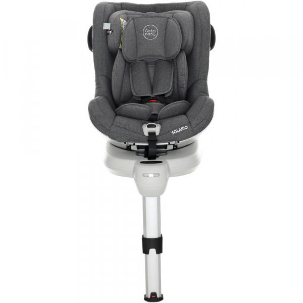 Scaun auto cu Isofix Solario - Coto Baby - Melange Gri 8