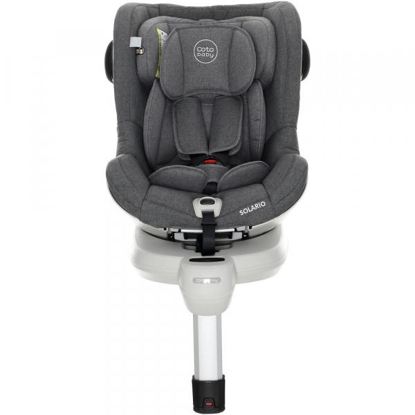 Scaun auto cu Isofix Solario - Coto Baby - Melange Gri 7