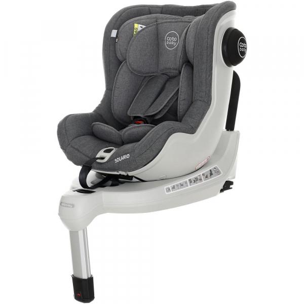 Scaun auto cu Isofix Solario - Coto Baby - Melange Gri 6