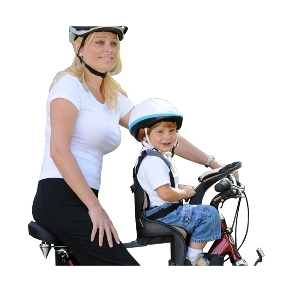 Scaun de bicicleta Deluxe si Casca protectie Flames Roz WeeRide WR03R 1