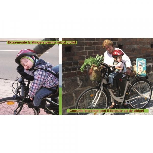 Scaun de bicicleta Deluxe WeeRide WR03 8