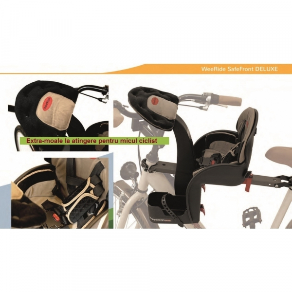 Scaun de bicicleta Deluxe WeeRide WR03 7