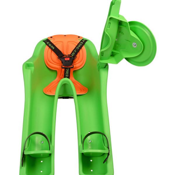 Scaun de bicicleta Safe-T-Seat Verde iBert IBGR 1