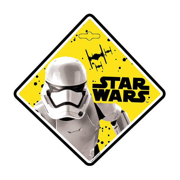 Semn de avertizare Baby on Board Star Wars Stormtrooper Seven SV9624 0