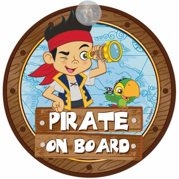 Semn de avertizare Pirate on Board Jake Disney Eurasia 25033 0