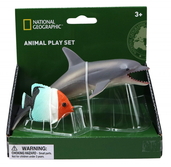 Set 2 figurine - Delfin si Peste 0