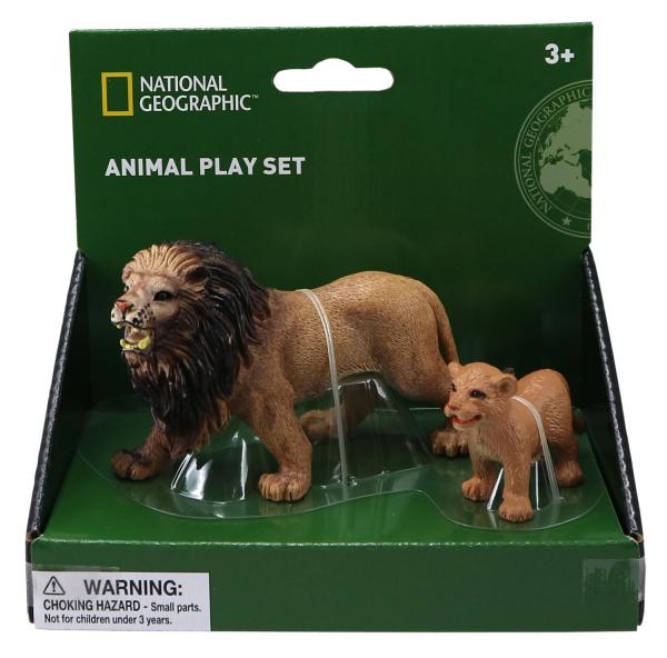 Set 2 figurine - Leul si puiul 0