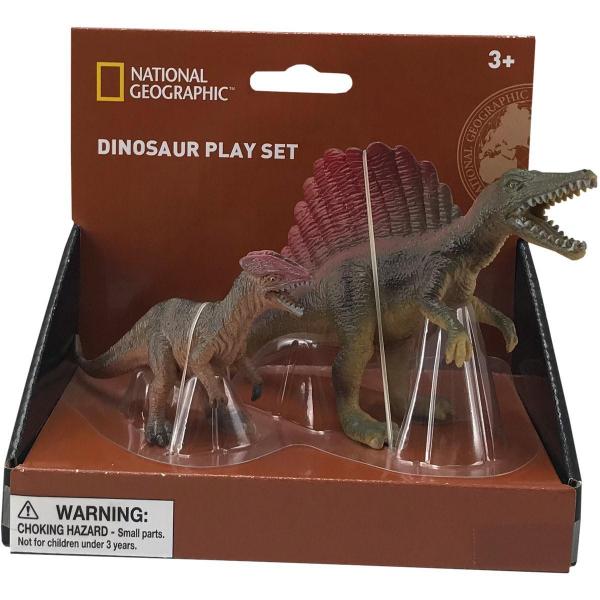 Set 2 figurine - Spinosaurus si Dilophosaurus 0