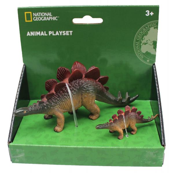 Set 2 figurine - Stegosaurus 0