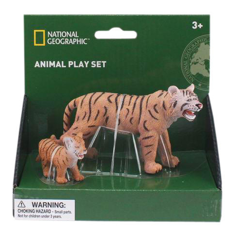Set 2 figurine - Tigrul si puiul 0