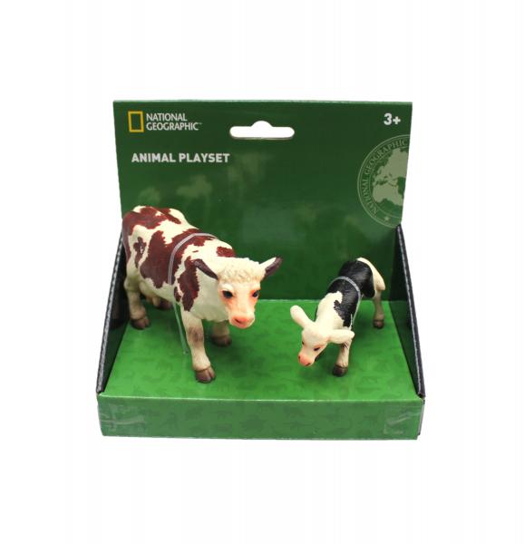Set 2 figurine - Vacuta si vitel 0