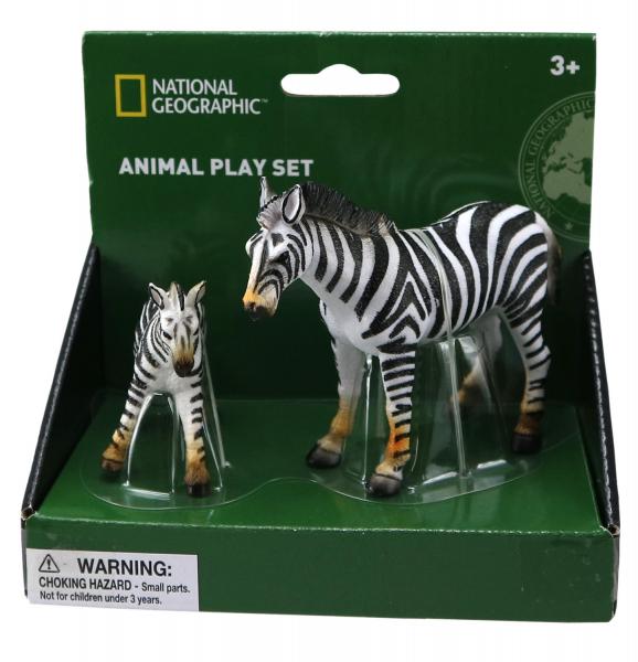 Set 2 figurine - Zebra 0