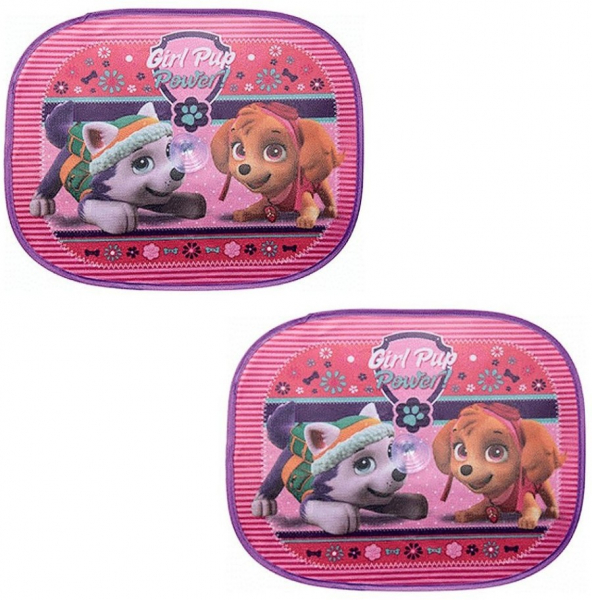 Set 2 parasolare auto Paw Patrol Girl 0