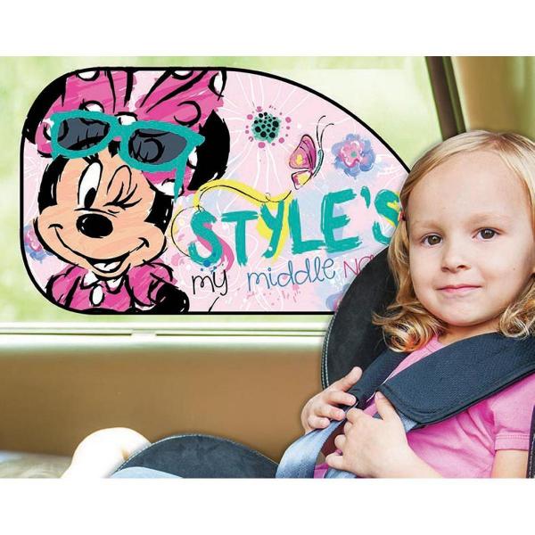 Set 2 parasolare auto XL Minnie Style Disney Eurasia 27030 2