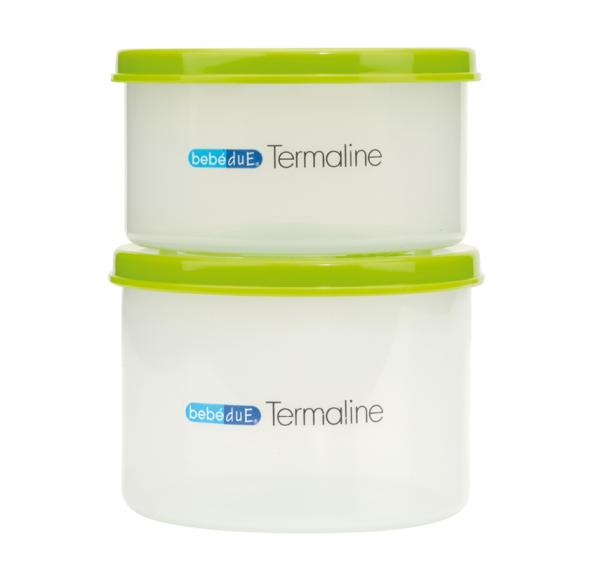 Set 2 recipiente hrana copii Termaline  BebeduE 80134 [0]