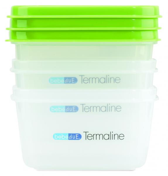Set 3 recipiente hrana copii Termaline  BebeduE 80135 [1]