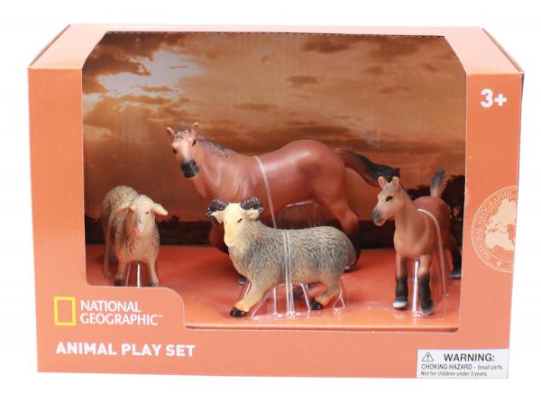 Set 4 figurine - Animalute de la ferma 0