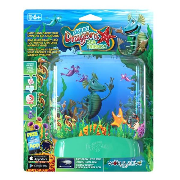 Set Acvariu Aqua Dragons Sea Friends World Alive W4016 0