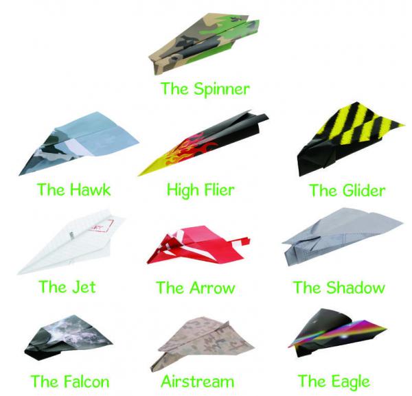 Set avioane din hartie 1