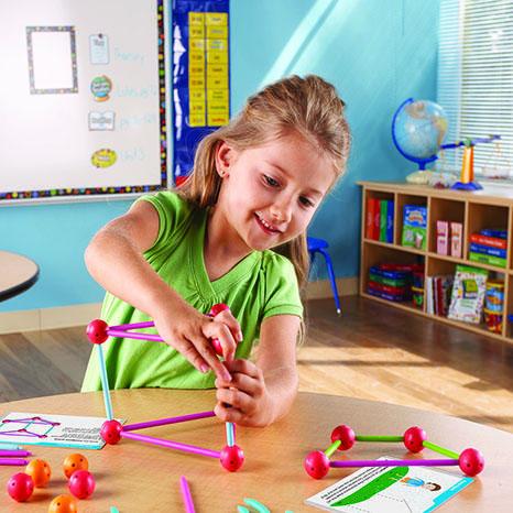Set constructie - Forme 3D - Explorers 2