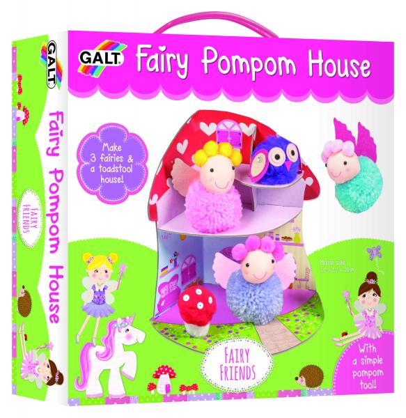 Set creativ - Fairy Pompom House 4