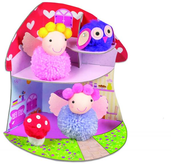 Set creativ - Fairy Pompom House 0