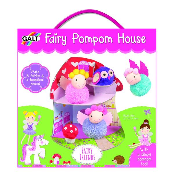 Set creativ - Fairy Pompom House 5