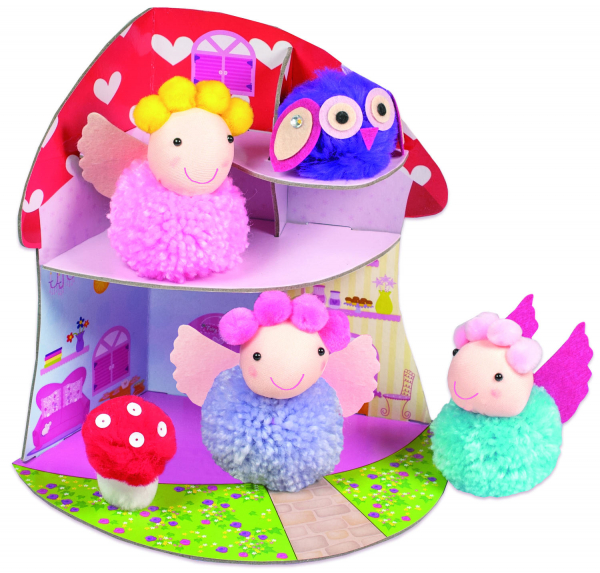 Set creativ - Fairy Pompom House 1