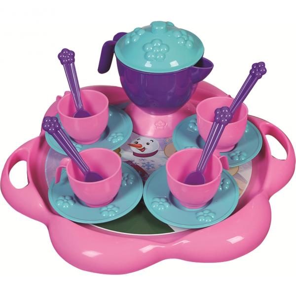 Set de ceai cu tavita 16 piese Ice World Ucar Toys UC124 0