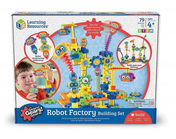 Set de constructie - Gears! Fabrica de robotei 5