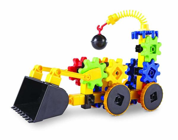 Set de constructie - Gears! Primul meu buldozer 0