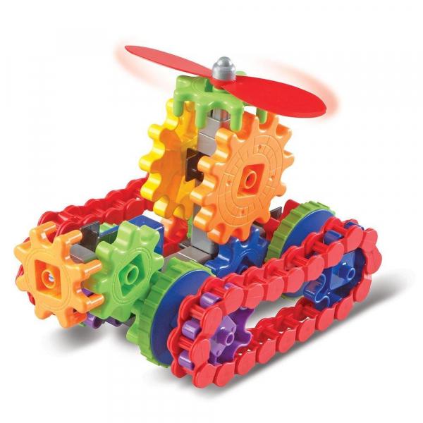Set de constructie Gears! - Utilaje in miscare 1