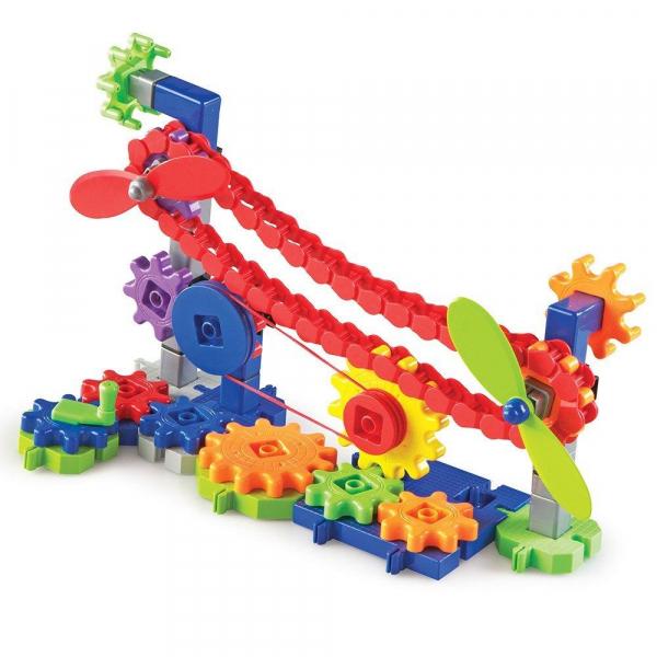 Set de constructie Gears! - Utilaje in miscare 3