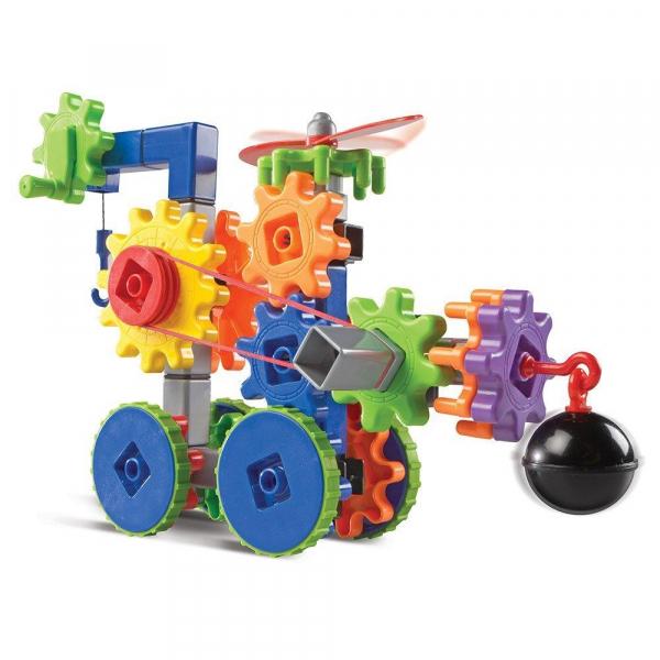 Set de constructie Gears! - Utilaje in miscare 0