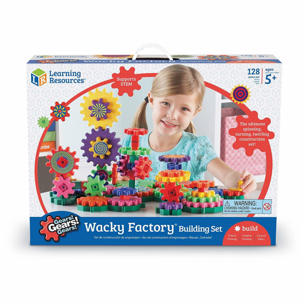 Set de constructie - Gears! Wacky Factory 0