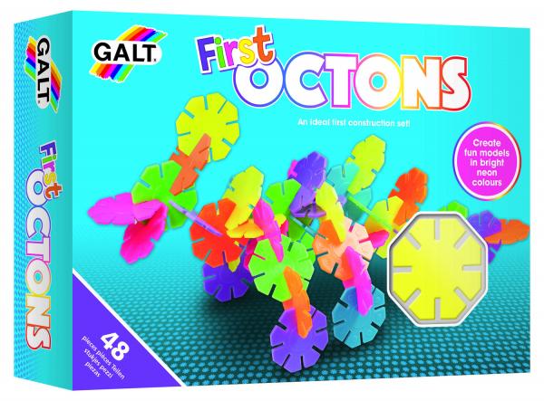 Set de construit - First Octons - 48 piese 0