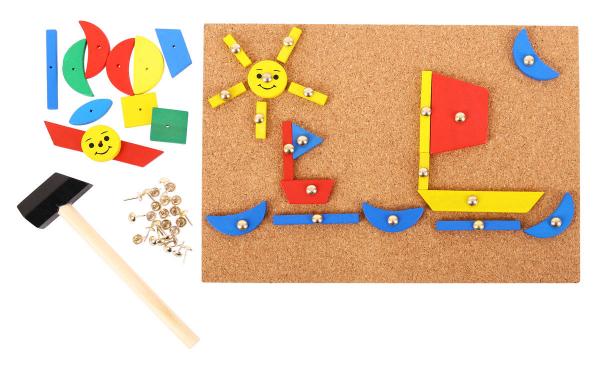 Set de creatie - Forme din lemn 0