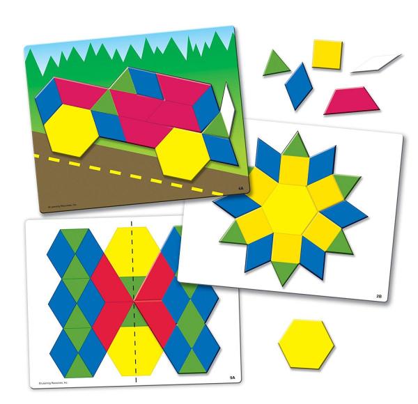 Set de forme magnetice pentru construit modele 0