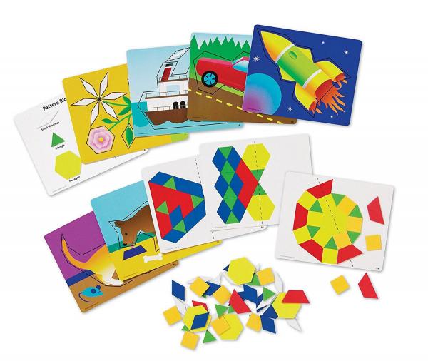 Set de forme magnetice pentru construit modele 1