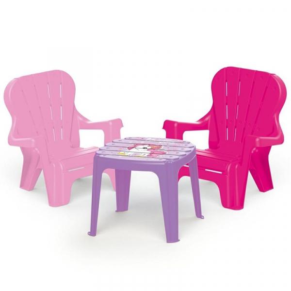 Set de masa cu scaune - Unicorn 0