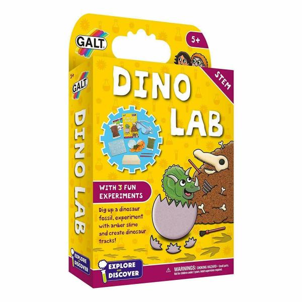 Set experimente - Dino Lab 0