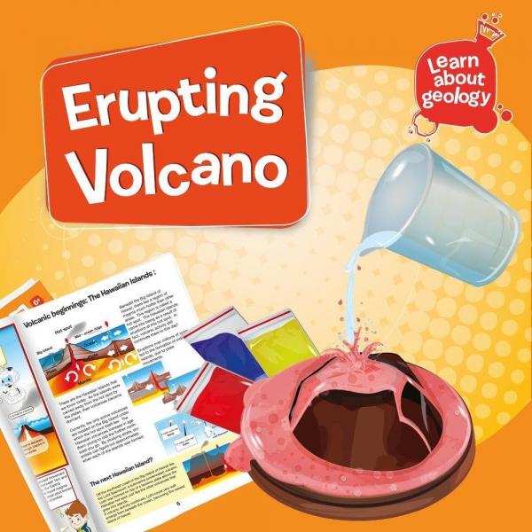 Set experimente - Eruptia vulcanica 2