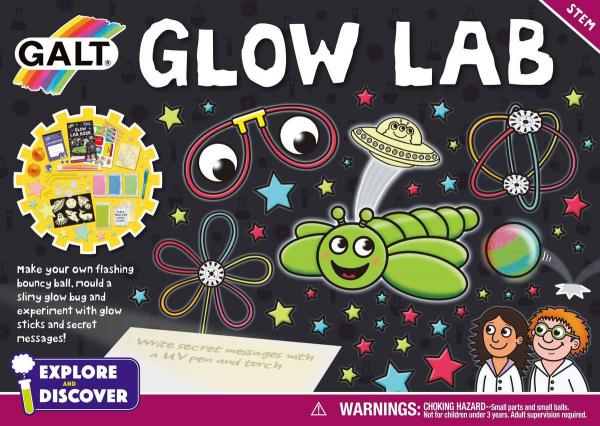 Set experimente - Glow lab 0